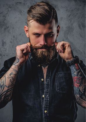 Picture of Male 75 Hair Salon Poster